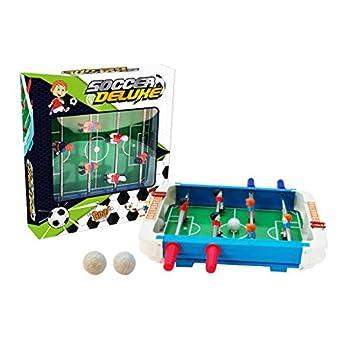 ErYao Tabletop Foosball Table- Portable Mini Soccer Game Set- Classic Mini Table Top Foosball 25x27x5cm  A