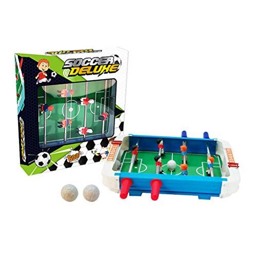 ErYao Tabletop Foosball Table- Portable Mini Soccer Game Set- Classic Mini Table Top Foosball, 25x27x5cm (A)