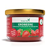 Simply Keto Fruta para untar con eritritol 'Fresa' (230g) - Mermelada baja en carbohidratos sin azúcares añadidos - Más del 75% de contenido de fruta