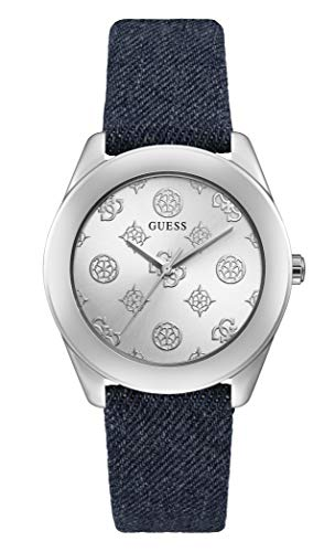 Guess Watches Ladies Peony g Herren Uhr analog Quarzwerk mit Leder Armband GW0228L1