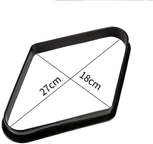 LYXMY Billar 9 Bola Mesa de Billar Triángulo Estante, Mesa de ...