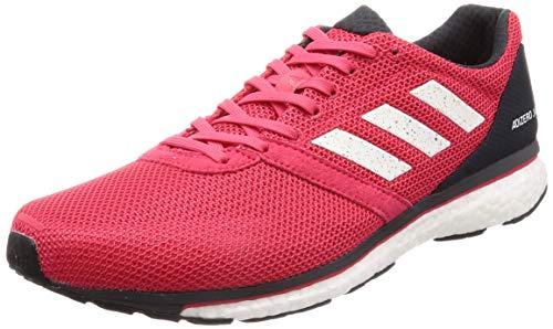 adidas Adizero Adios 4 M, Zapatillas de Running Hombre, Rosa (Active Pink/FTWR White/Carbon Active Pink/FTWR White/Carbon), 41 1/3 EU