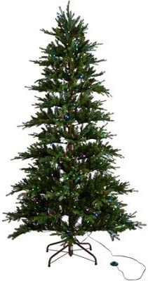 ED On Air Santa's Best 6.5-Foot Las Vegas Mall Rustic Spruce Limited time trial price Tree Christmas by