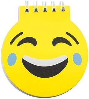 313306a8c2 Lote de 50 Libretas Infantiles Emoticonos - Libretas Originales Emojis,  Diseño Divertido Regalos prácticos para