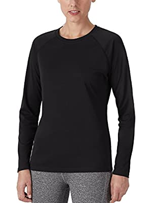 Naviskin Women's Sun Protection UPF 50+ UV Outdoor Long Sleeve T-Shirt Black Size XL