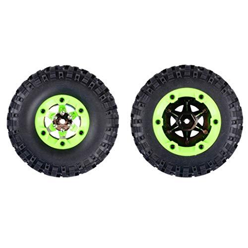 chiwanji 2X RC 95mm 12428-0071 Juego de Neumáticos de Goma Derechos para WLtoys 12428 1/12 RC Car