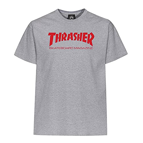 Thrasher Hometown Heather Grey/Red T-shirt Taille L