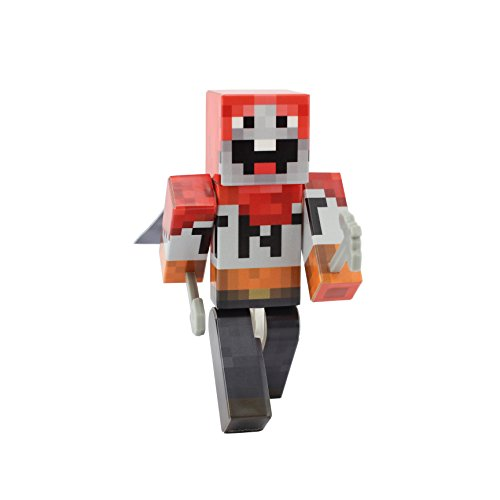 EnderToys TNT Dude Action Figure Toy, 4 Inch Custom Series Figurines
