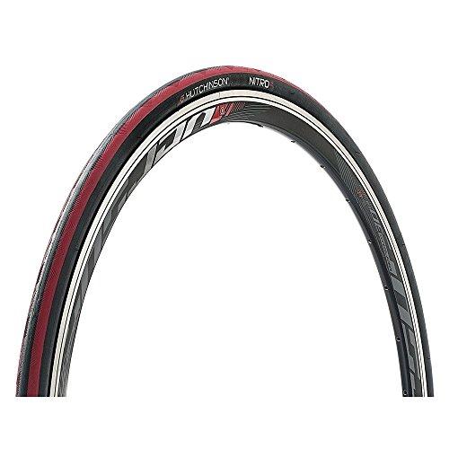 Hutchinson Unisex– Erwachsene Nitro 2 Fahrradreife, schwarz/rot, 28 Zoll