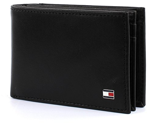 Tommy Hilfiger Eton Mini CC Flap & Coin Pocket Black