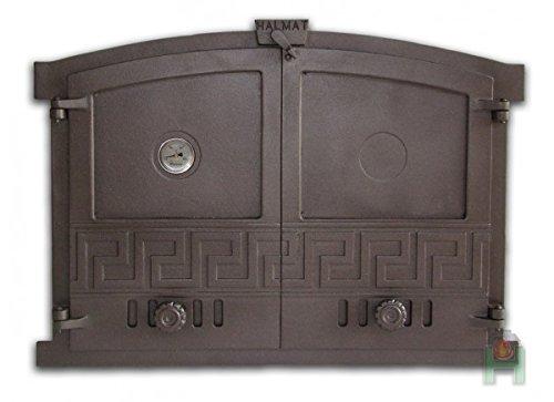 Ofentür aus Gusseisen 600x430 Backofentür, Steinofentür 720027