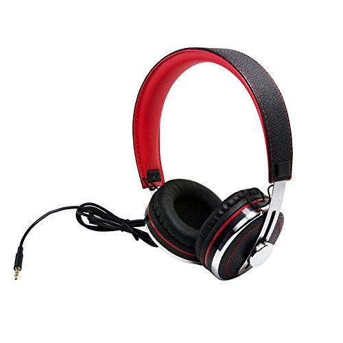 Typhoon TM028 Typhoon Rockstar Stereo Headset stylisches Leder-Design 35mm Stereo Plus - TM028 -