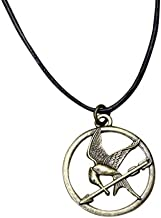 NECA The Hunger Games Movie Mockingjay Pendant on Leather Cord