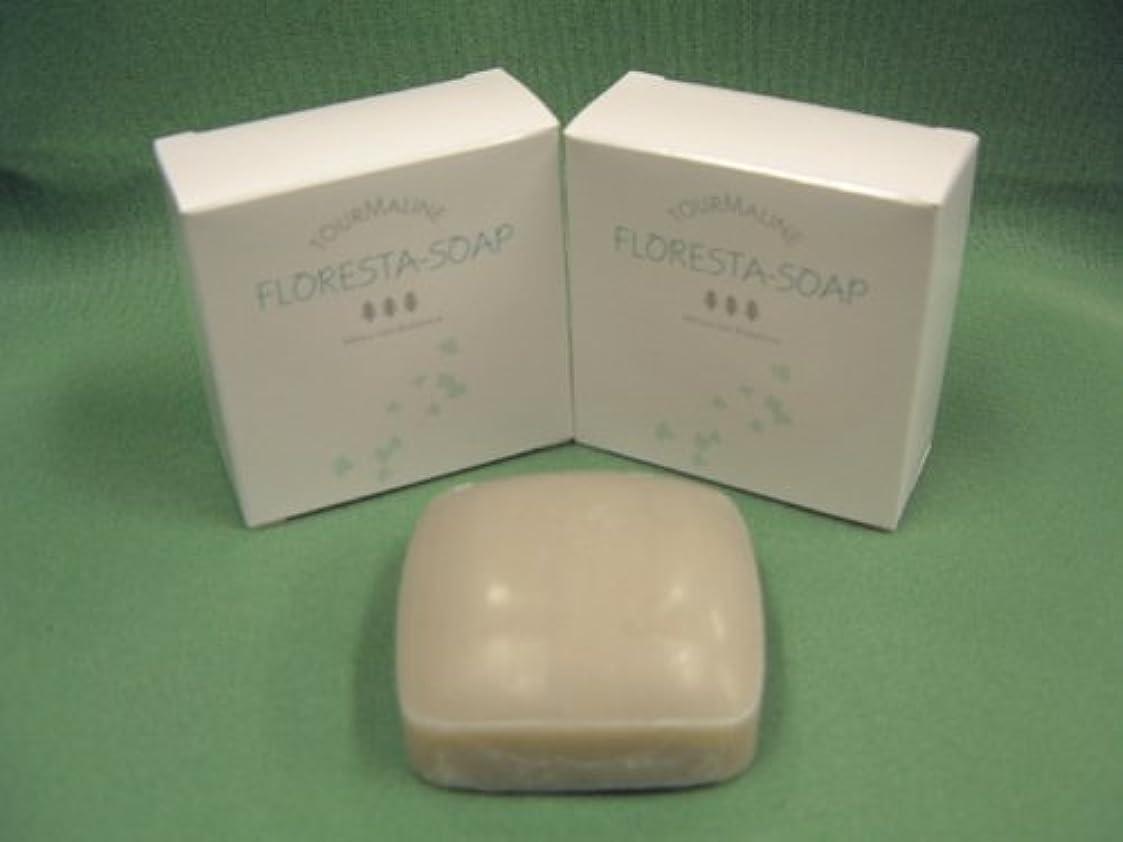 賢明な実験をするランプ「フロレスタソープ2ケ&浴用タオル3枚セット」スッキリ洗い上げてスベスベのお肌に