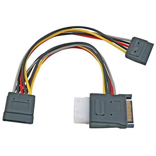 PremiumCord Power Y-kabel voor HDD Serial ATA naar 5,25