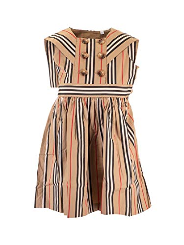 BURBERRY Luxury Fashion Mädchen 8022510 Beige Kleid  