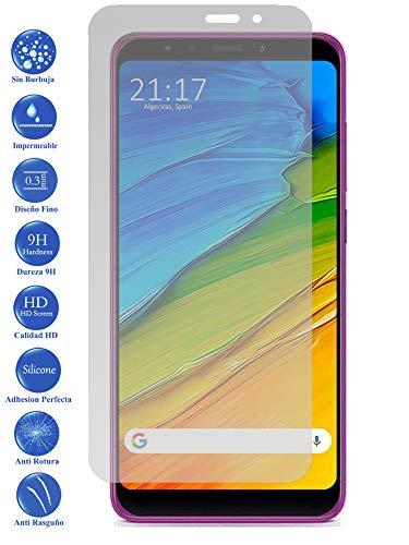 Todotumovil Protector de Pantalla Xiaomi Redmi 5 Plus de Cristal Templado Vidrio 9H para movil