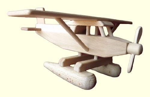 Hydravion en bois de hêtre, artisanat Véritable