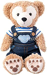 LSPP Plush toy New Cowboy Duffy Shellie May Bear Plush For Girls Kids Stuffed Animals Toys For Children Gifts 25Cm Duffy