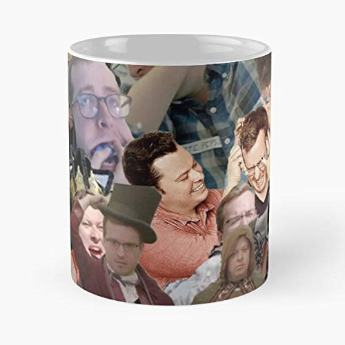 Clint Justin The Brother Brothers Zone Travis My Mbmbam Adventure McElroy and Me Griffin The Best Taza de café de cerámica blanca de 315 ml