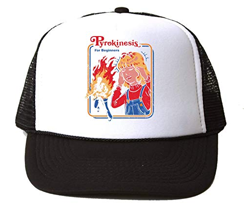 NoMoreFamous Pyrokinesis for Beginners Baseball Cap Unisex Mütze Kappe Hat One Size