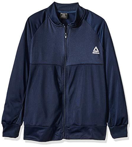 Reebok Jungen Essentials Trainingsjacke, Jungen, Jacke, Essentials Track Jacket, Marineblau, 18-20
