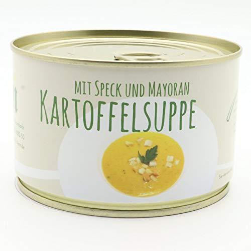 Diem Kartoffelsuppe mit Speck und Majoran - in der Konserve 400g mit Sahne - Langes MhD - Gourmetsuppe