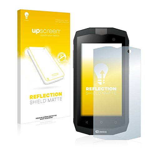 upscreen Entspiegelungs-Schutzfolie kompatibel mit Crosscall Trekker M1 Core / M1 – Anti-Reflex Bildschirmschutz-Folie Matt