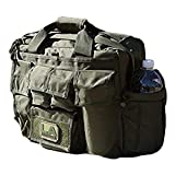 LA Police Gear Tactical Mil-Spec 600D Polyester Jumbo Operator Diaper Bag-Green