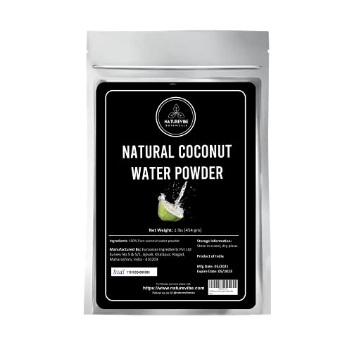 Naturevibe Botanicals Coconut water powder, 1lb | 100% pure and natural