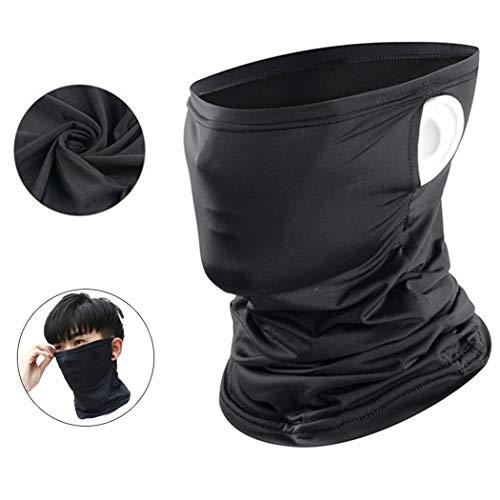 BTkviseQat Gesichtsmaske Halstuch, Face Shields Gesichtsmaske Halstuch für Sun UV Staubschutz Nackenschutz für Radfahren Laufen Wandern Cool, UV-Schutz, Angelmaske