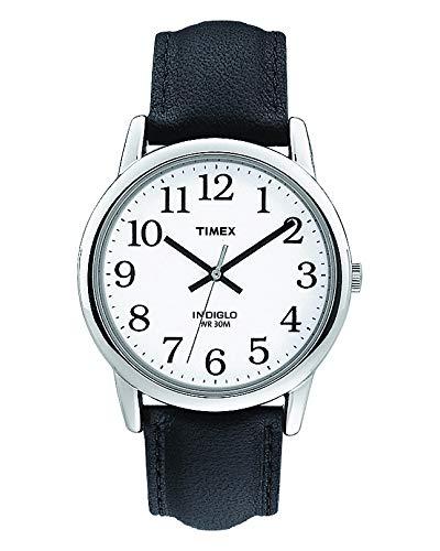 Timex T20501PF - Reloj de Cuarzo para Hombres, Correa de Piel, Sumergible...