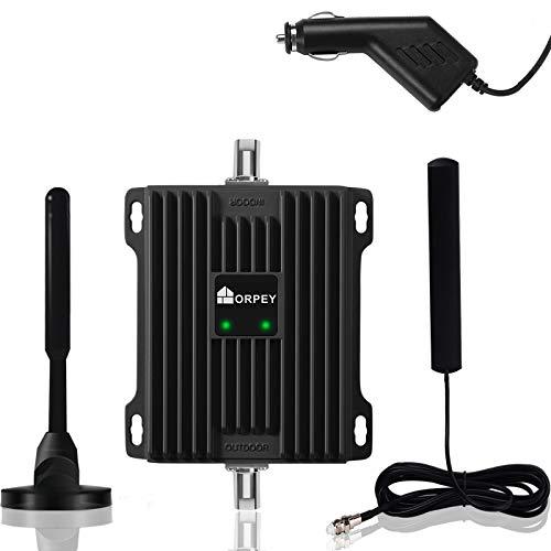Amplificador de señal 4G LTE Repetidores gsm Movistar Orange Yoigo Vodafone Repetidor gsm 900MHz (Banda 8) LTE 800MHz (Banda 20) para Llamadas móviles 4G LTE y Datos en Automóviles y Camiones