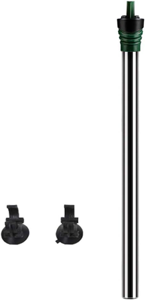 SYTH Calentador de Acuario Sumergible de pecera,termostato de Agua para acuarios, con Perilla de Ajuste Termostato 2 ventosas y termómetro Libre Adecuado, para Agua Salada Marina y Agua Dulce