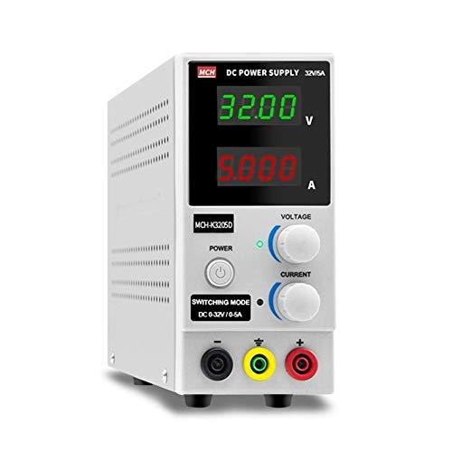 YZLP osciloscopio MCH-K3205D Fuente de alimentación regulada de CC Ajustable 0-32V 5A 160W Fuente de alimentación de reparación de teléfono móvil (Size : 220V)