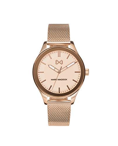 MARK MADDOX - Reloj Acero IP Rosa Brazalete Sra Mm - MM7133-97