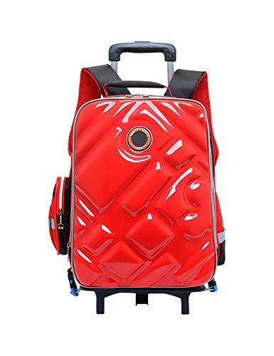 子供用 キャリーケース 低学年 スーツケース リュックサック バックパック 防水 ハードシェル 通勤通学 軽量 旅行 遠足 大型 6 キャスター BESBOMIG
