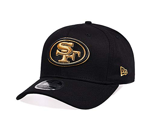 New Era San Francisco 49ers Black and Gold Edition 9Fifty Stretch Snapback Cap - NFL Kappe (ML)