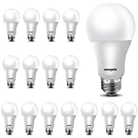 16-Pack Energetic 60W Equivalent A19 LED Light Bulb 5000K Daylight