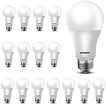 16-Pack Energetic 60W Equivalent A19 LED Light Bulb