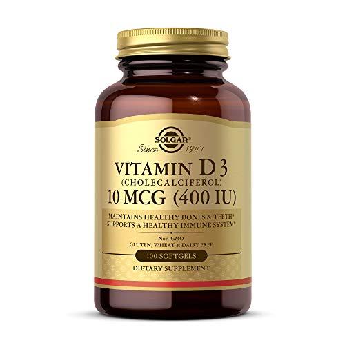 SOLGAR La Vitamine D3 400Iu 100Cap