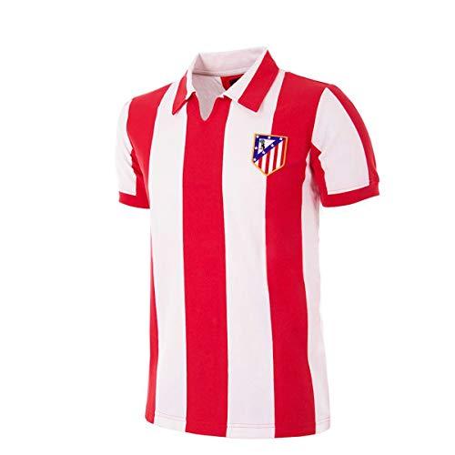 copa Atletico de Madrid 1970-71 Retro Football Shirt, Camiseta, Red;White, Talla L