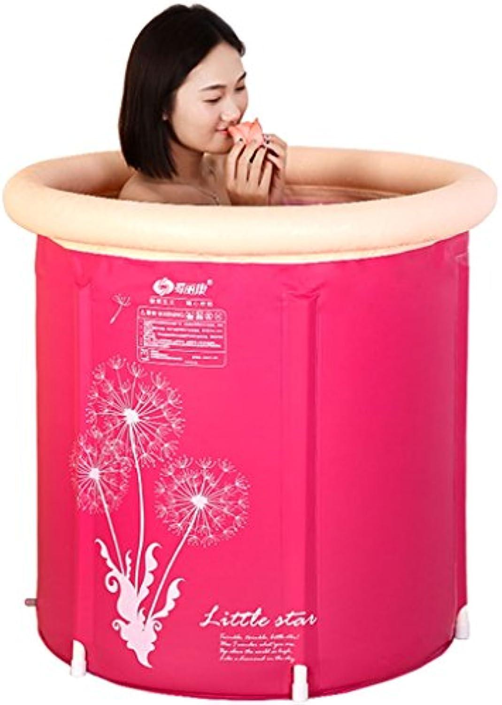 Dccer Aufblasbare Badewanne Baby Kind Verdickung Groe Familienbad Erwachsene Aufblasbare Badewanne (gre   65  70cm)