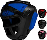 RDX Headgear for Boxing, MMA Training, Head Guard with Removable Face Grill, Cheeks, Ear, Mouth...