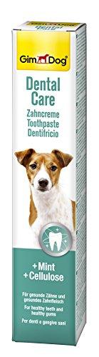 GimDog Dental Care Zahncreme für Hunde - Mint und Cellulose für gesunde Zähne und Zahnfleisch - 1 Tube (1 x 50 g)