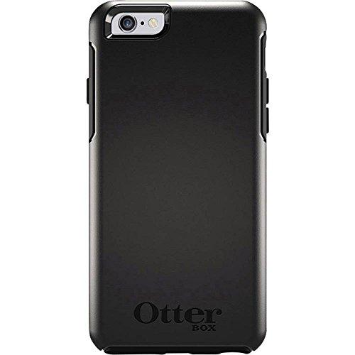 Otterbox Symmetry, funda anticaídas, fina y elegante para Apple iPhone 6/6s, Negro