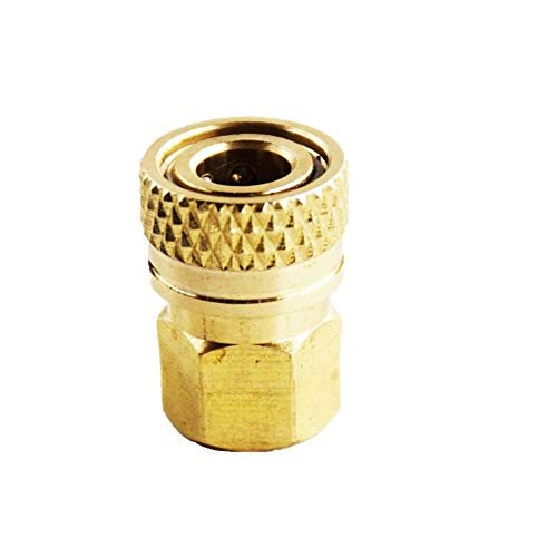 Flylock Universal 8mm 1/8' NPT Female Thread Female Quick-Disconnect Copper Plug Adapter PCP Paintball Charging Fittings Plug