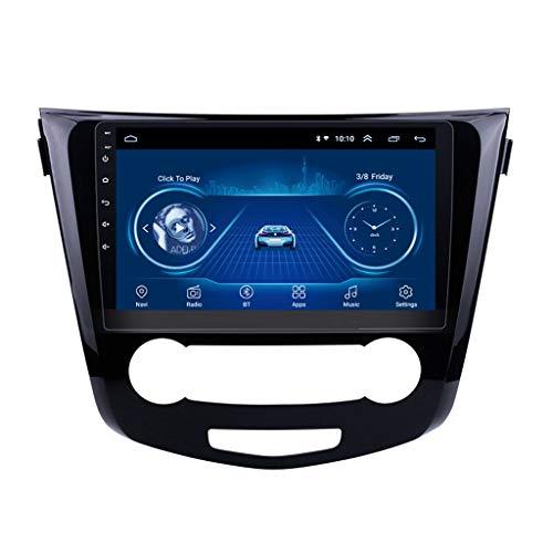 Android 8.1 Car Navigation Stereo, Reproductor Multimedia De Radio De Coche 1G / 16G De 9 Pulgadas, Navegación GPS Bluetooth WiFi, para Nissan Qashqai 2016-2018