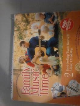 CD-ROM Family Music: Teach Yourself to Play Guitar & Harmonica, CD-ROM Book
