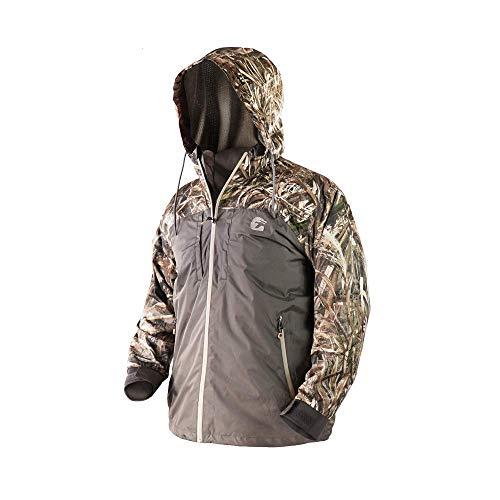 Gator Waders Mens Shield 3-in-1 Hunting Jacket, X-Large, Realtree Max 5